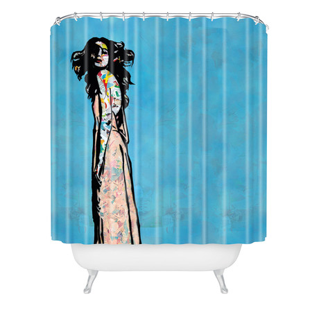 Go With The Flow // Shower Curtain