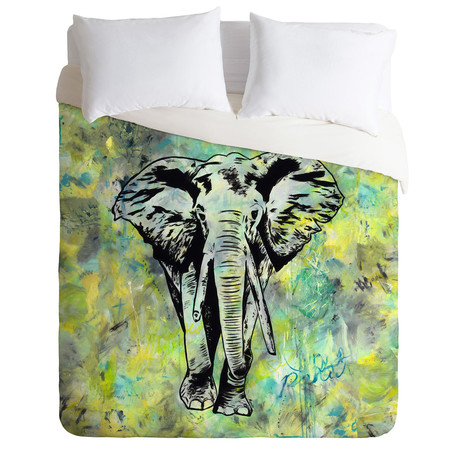 The Tough Elephant // Duvet Cover