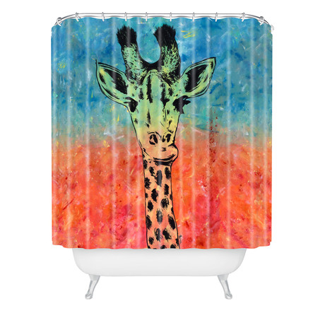 Universal Giraffe // Shower Curtain