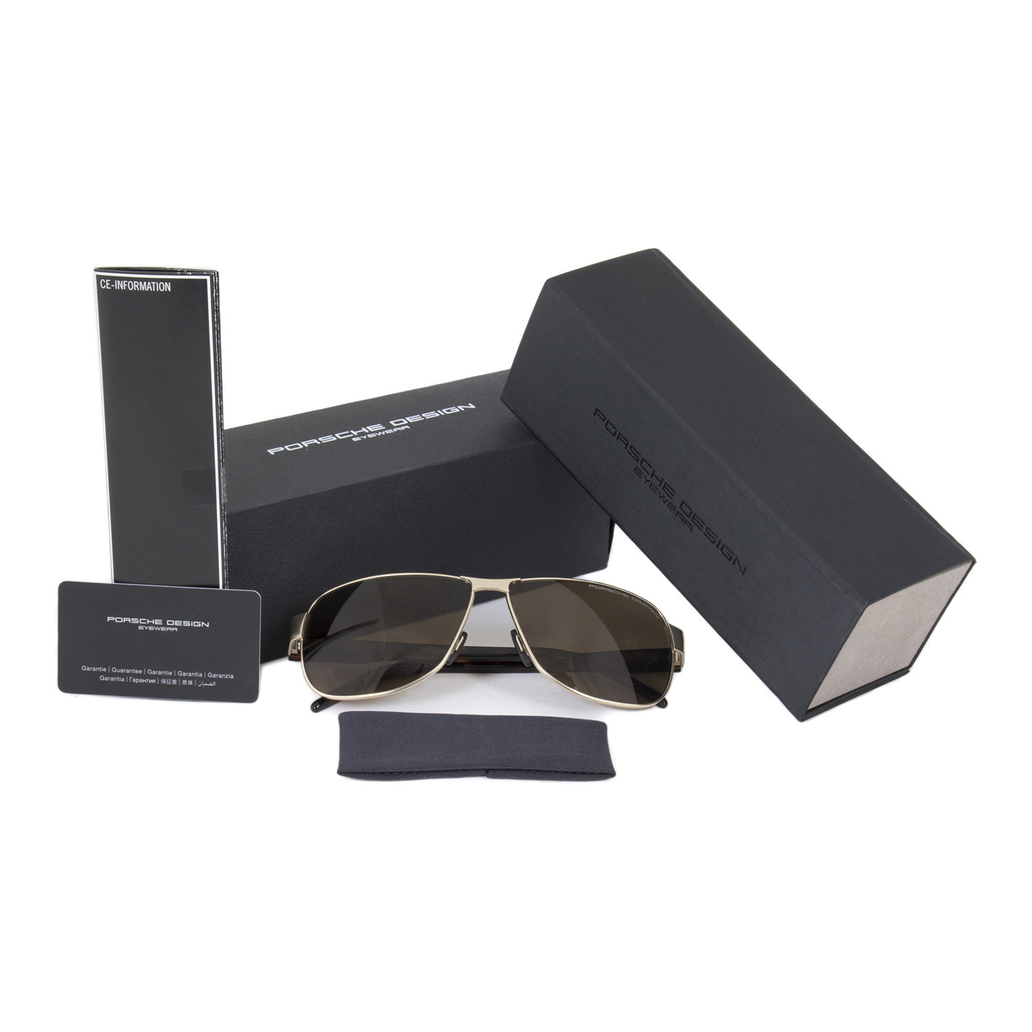 0a01d4923fde Porsche Design    Aviator P8633 B 61 - Porsche Design - Touch of Modern