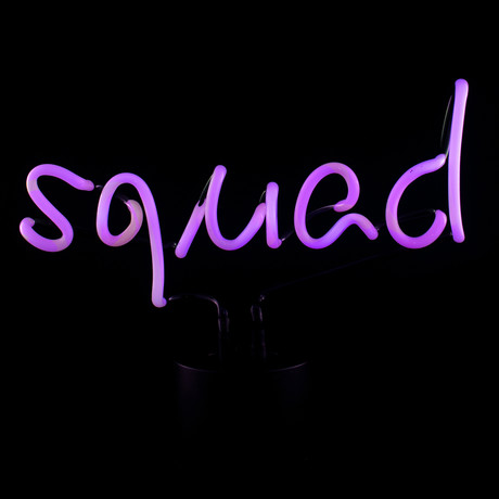 Squad Neon Desk Light