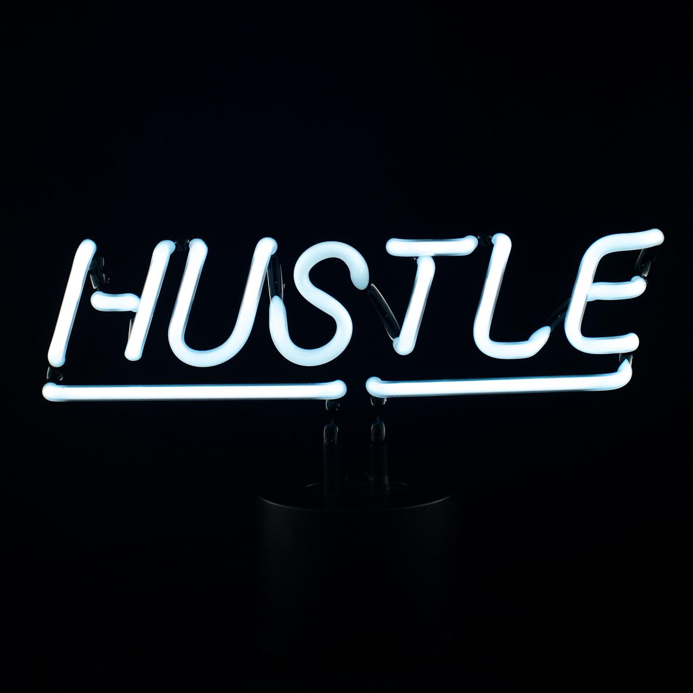 Hustle Neon Desk Light Amped Amp Co Touch Of Modern
