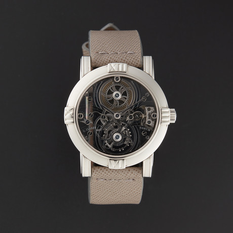 "Corum Skeleton Mystery ""Christophe Claret"" Tourbillon Manual Wind // 613732 // Pre-Owned"
