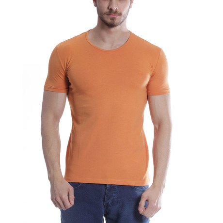 Solid T-Shirt // Apricot