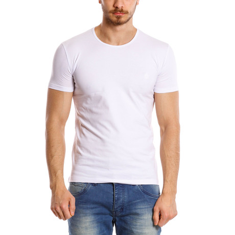 Solid T-Shirt // White