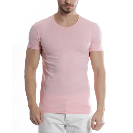 Solid T-Shirt // Pink