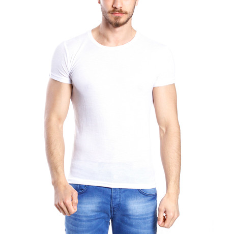 Solid Thin T-Shirt // White
