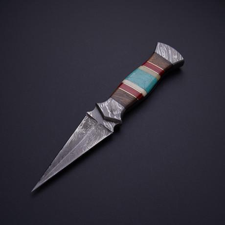 Turquoise Stone Dagger