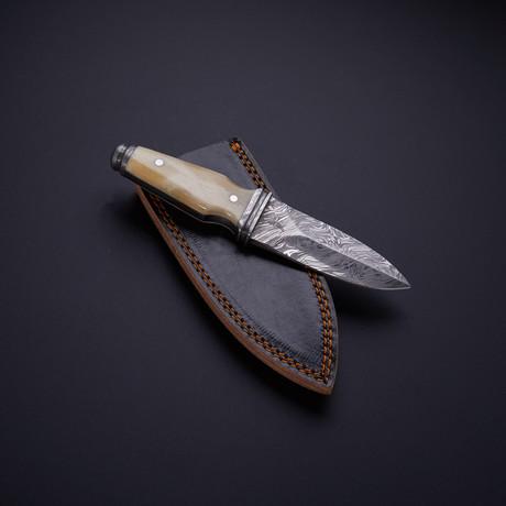 Boot Knife // Bone