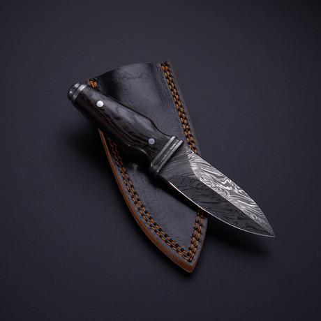 Boot Knife // Wenge
