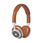 MW50 Wireless On-Ear Headphones (Brown + Silver)