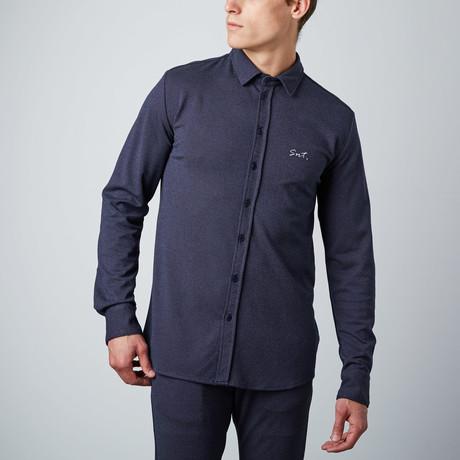 Deluxe Shirt // Navy, White