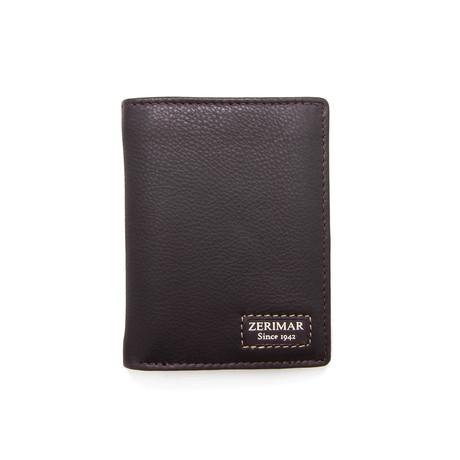 Mateo Tri-Fold Wallet // Brown