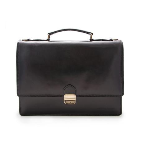 Rodrigo Briefcase // Black