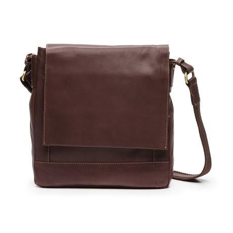 Bruno Shoulder Bag // Brown