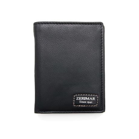 Mateo Tri-Fold Wallet // Black
