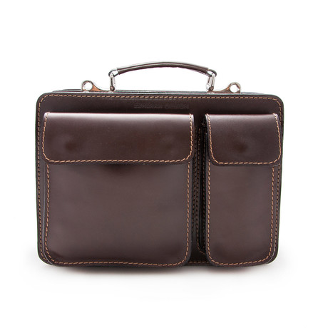 Maximo Briefcase // Brown