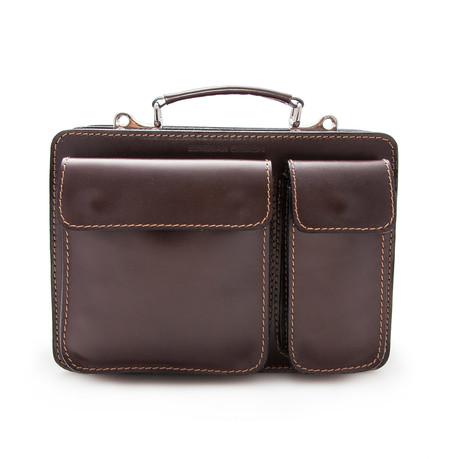 Maximo Briefcase // Brown