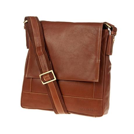 Bruno Shoulder Bag // Tan