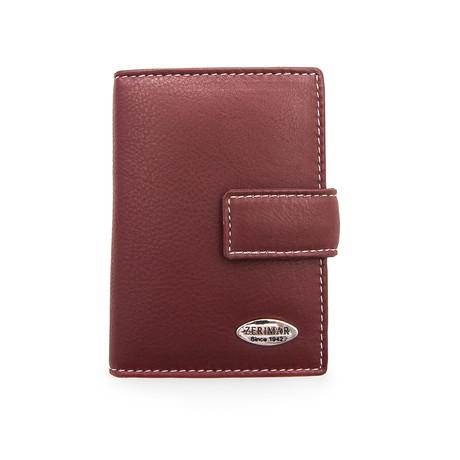 Nicolas Key Chain Wallet // Cognac