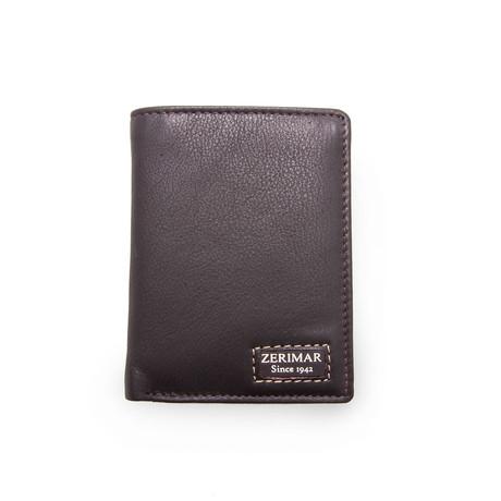 Alejandro Tri-Fold Wallet // Brown