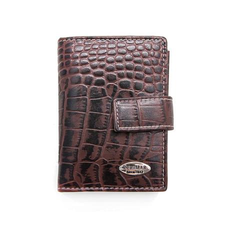 Nicolas Key Chain Wallet // Brown