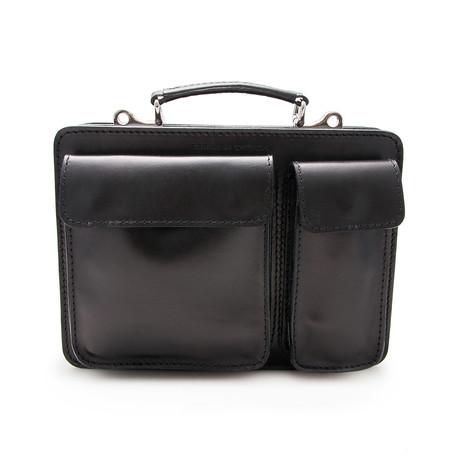 Maximo Briefcase // Black