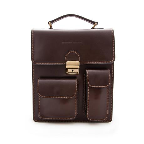 Vicente Briefcase // Brown