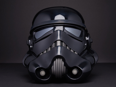 IMPERIAL SHADOW STORMTROOPER HELMET