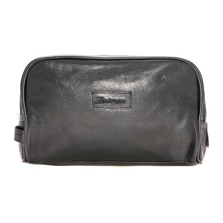 Javier Toiletry Bag // Black
