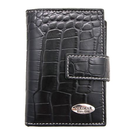 Nicolas Key Chain Wallet // Black