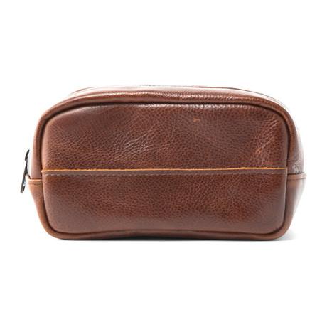 Presley Travel Kit // Brown