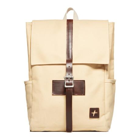 Whitman Backpack // Sand