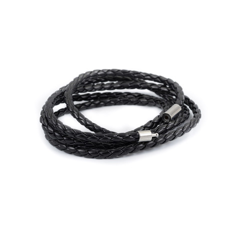 Coraggio // Leather Braided