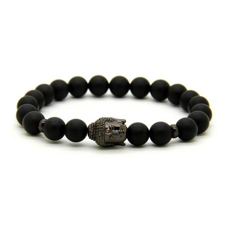 Stone // Matte Black Buddha