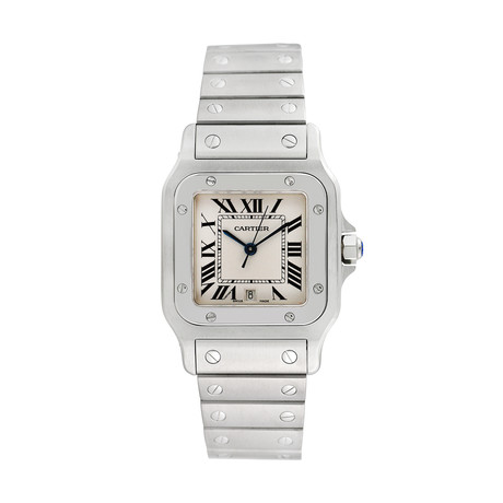 Cartier Santos Galbee Quartz // 1564 // Pre-Owned