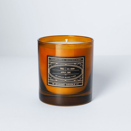 Apple + Oak Candle
