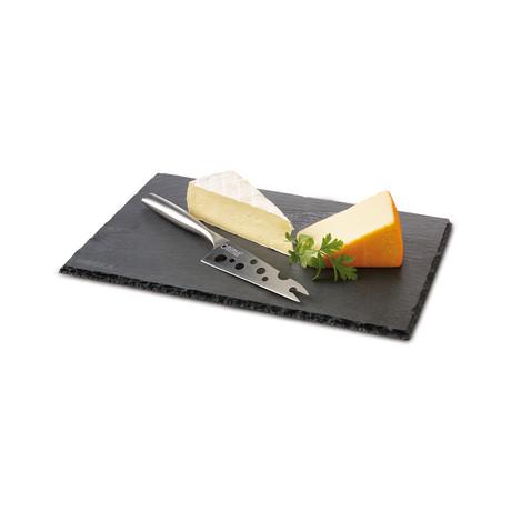 Cheesy Set // Slate Board + Knife