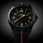 Traser P67 Officer Pro GunMetal Black-Orange Quartz // 107425