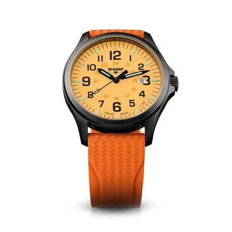 Traser P67 Officer Pro GunMetal Orange Quartz // 107423