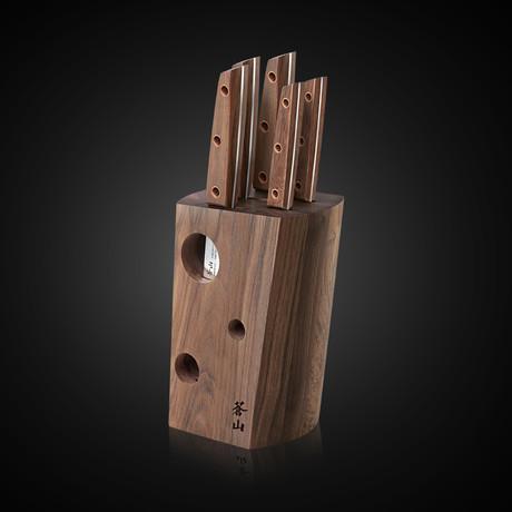 W Series // 6-Piece Knife Block Set