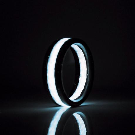 Apollo Carbon Fiber Ring // Ice