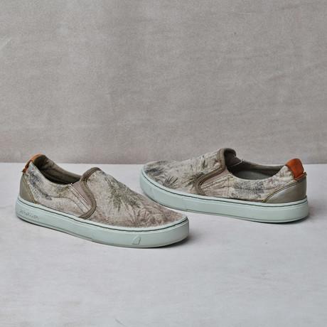 Soumei Printed Sneaker // Algue Palms