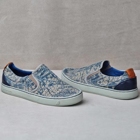 Soumei Slip-On Sneaker // Midnight Flakes