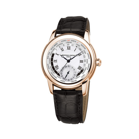 Frederique Constant Manufacture Worldtimer Automatic // FC-718MC4H4