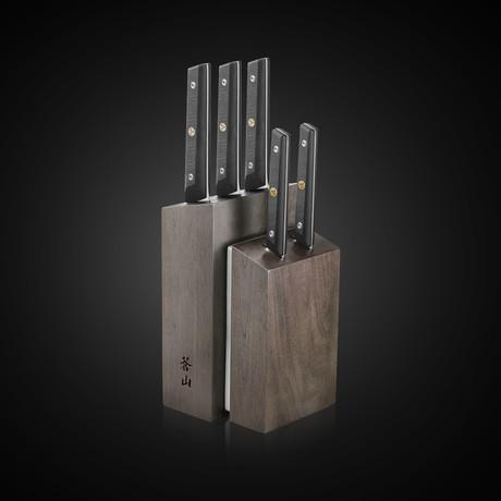 TG Series // 6-Piece Knife Block Set