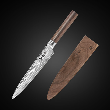 """J Series // Sashimi Chef Knife + Sheath (8"""")"""