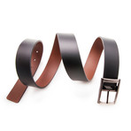 Rodriguez Reversible Belt // Black + Brown (Size 95 cm)