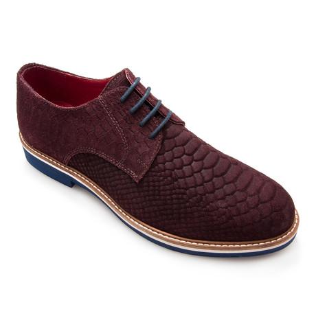 Darrel Python Casual Shoe // Bordeaux (Euro: 40)