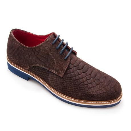Darrel Python Casual Shoe // Brown (Euro: 40)